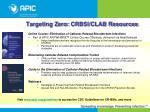 targeting zero crbsi clab resources