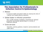 the association for professionals in infection control epidemiology