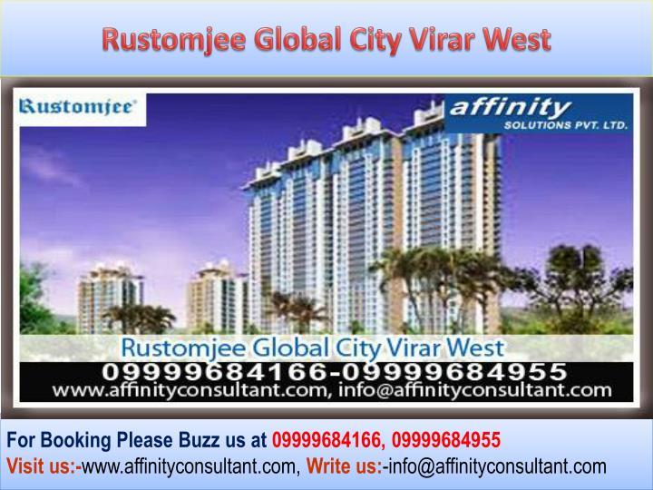 Rustomjee Global City Virar West