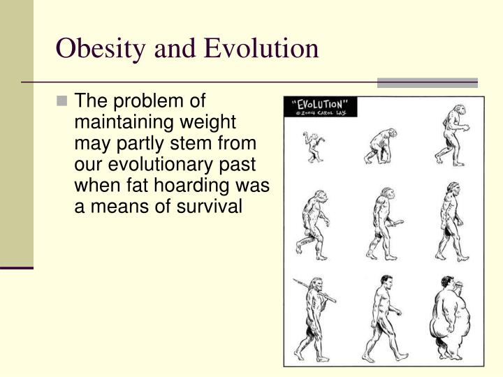 Obesity and Evolution