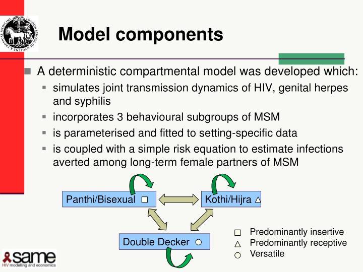 Model components