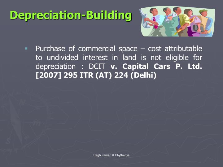 Depreciation-Building