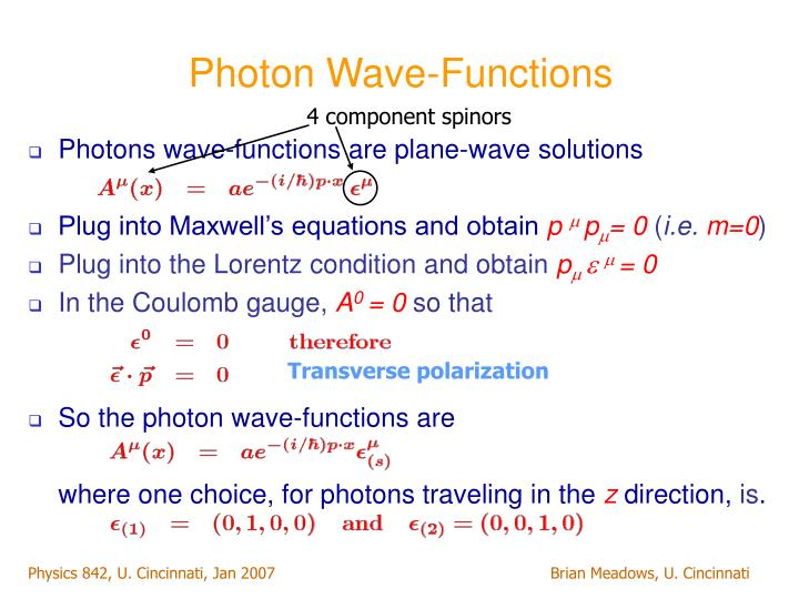 Photon Wave-Functions