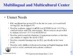multilingual and multicultural center1