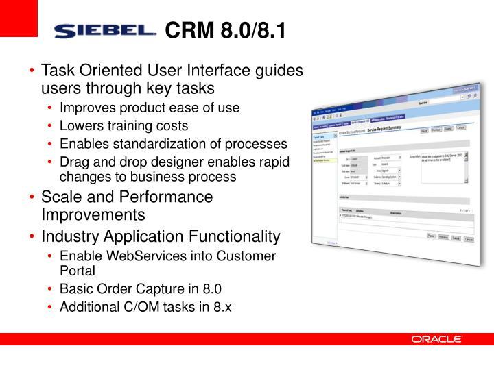 CRM 8.0/8.1