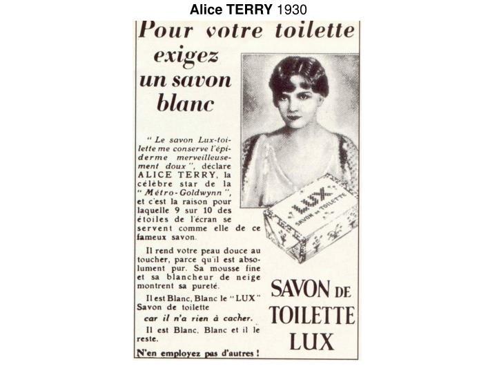 Alice terry 1930