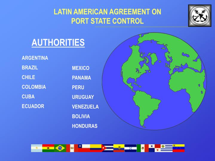 Latin amerlcan agre e ment on port state control