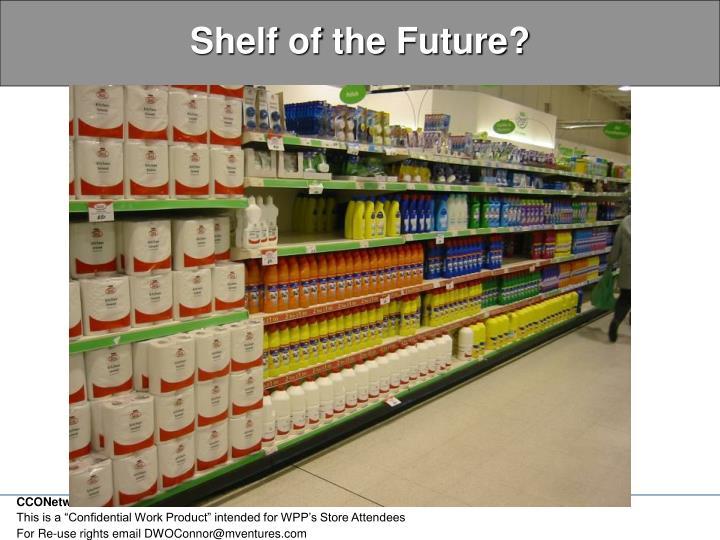 Shelf of the future