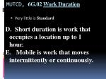 mutcd 6g 02 work duration