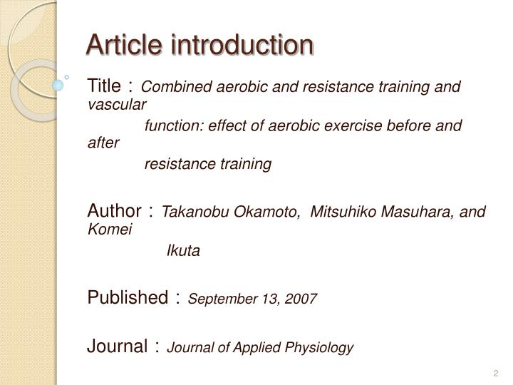 aerobic and resistance training effect on lipoprotein levels The effect of combined aerobic and resistance exercise training on vascular function in type 2 diabetes andrew maiorana,  effect of casting on forearm resistance vessels in young men  the effect of combined aerobic and resistance exercise training on vascular function in type 2 diabetes.