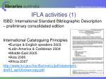 ifla activities 1