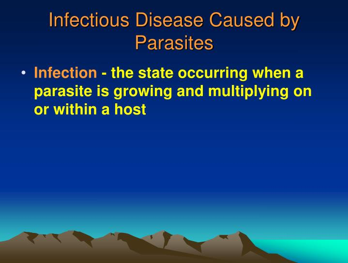 Infectious Disease Caused by Parasites
