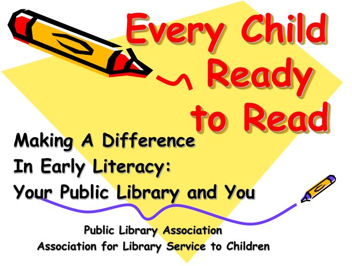 every child ready to read n.