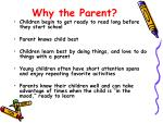 why the parent