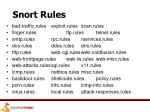 snort rules4