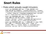 snort rules5