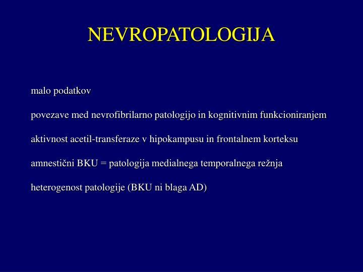 NEVROPATOLOGIJA