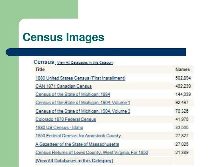 Census Images