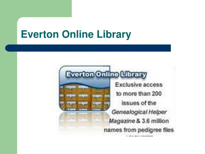 Everton Online Library