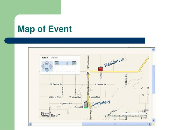 Map of Event