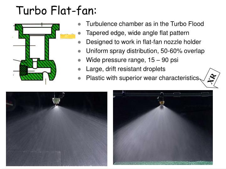 Turbo Flat-fan: