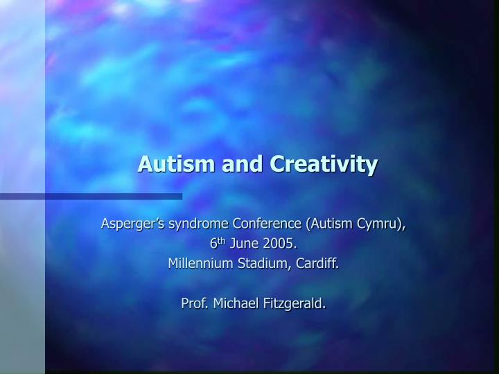 autism and creativity n.