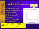 i t and time constants