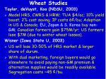 wheat studies1