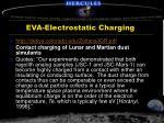 eva electrostatic charging