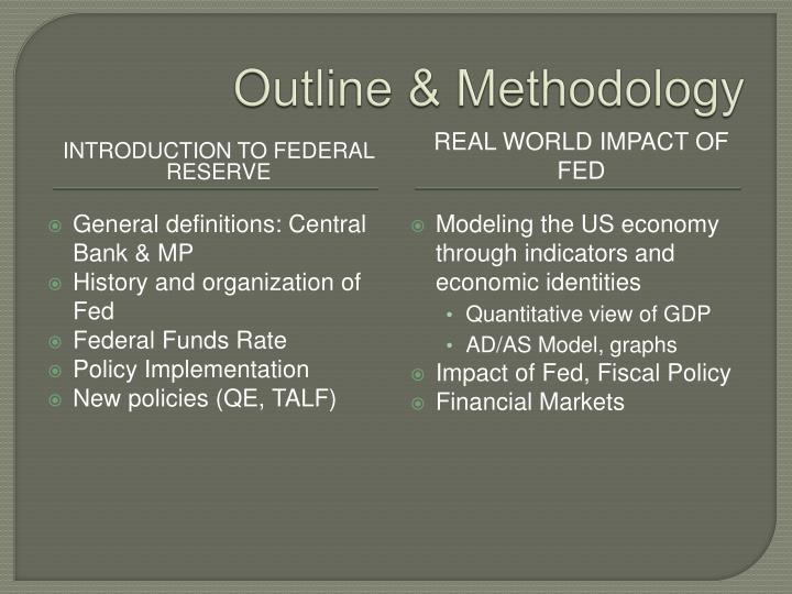 Outline methodology