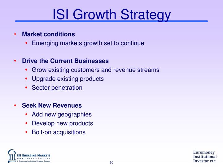 ISI Growth Strategy