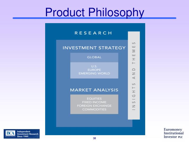 Product Philosophy