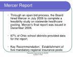 mercer report