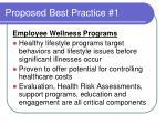 proposed best practice 1