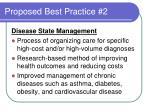 proposed best practice 2