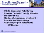 enrollmentsearch institutional research