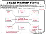 parallel scalability factors