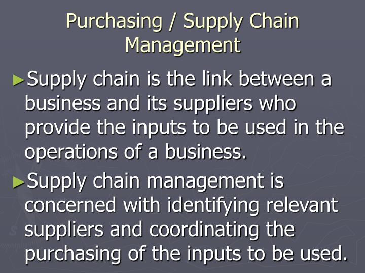 the crucial supply chain management to many organizations operations The master degree in operations and supply chain management is designed to provide students with a fundamental understanding of company supply chain management from a global perspective, with an emphasis on leveraging the effects of the operations and supply chain management on business performance and objectives.