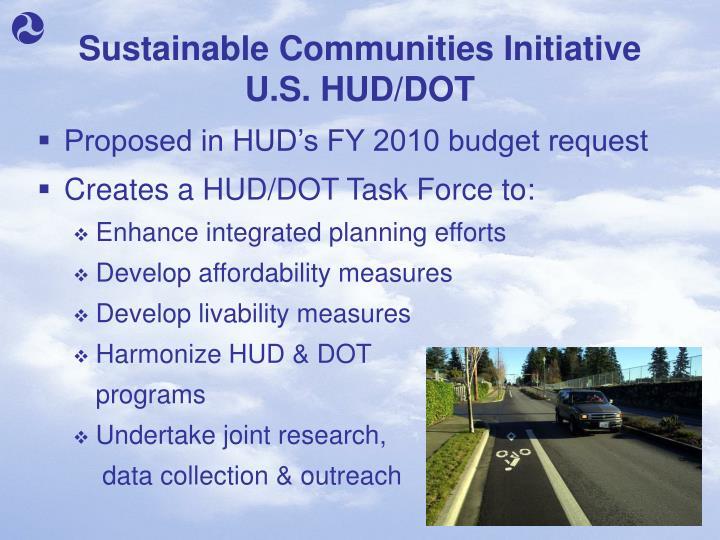 Sustainable Communities Initiative