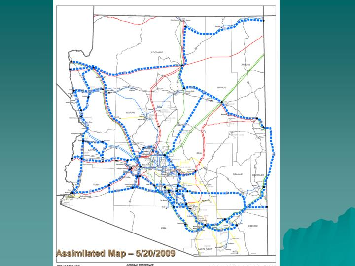 Assimilated Map – 5/20/2009