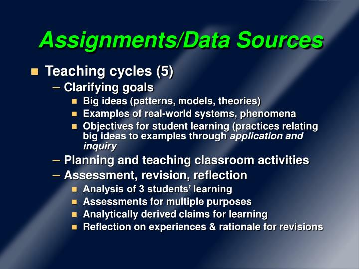 Assignments/Data Sources
