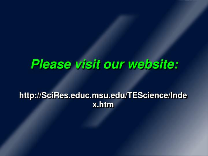 Please visit our website: