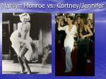 marilyn monroe vs cortney jennifer