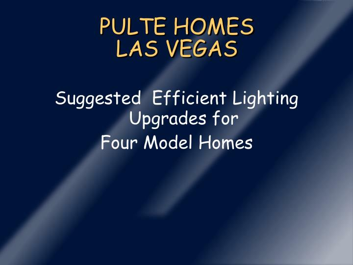 pulte homes las vegas n.