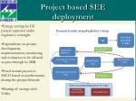 project based see deployment