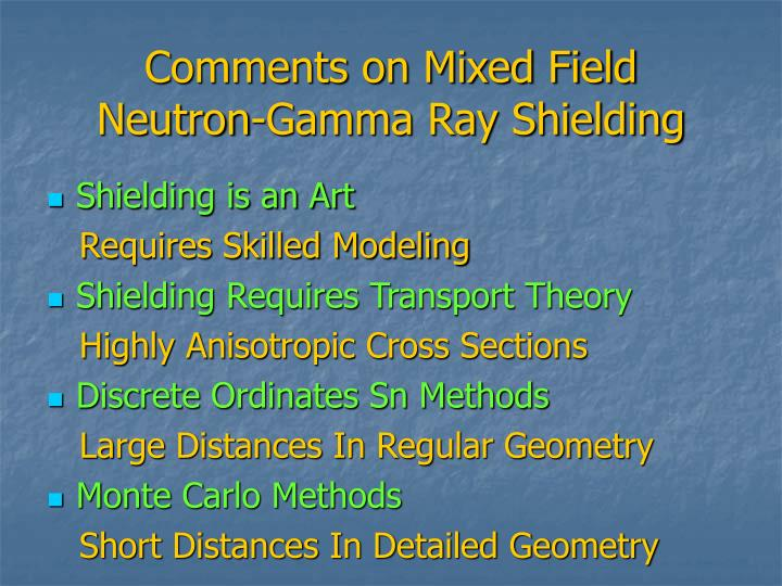 Comments on Mixed Field
