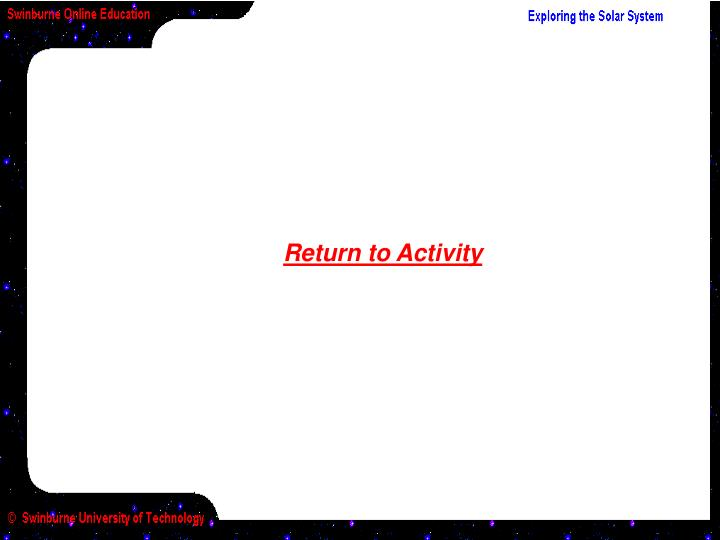 Return to Activity