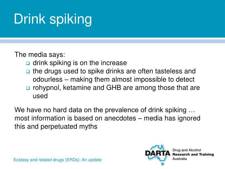 Drink spiking