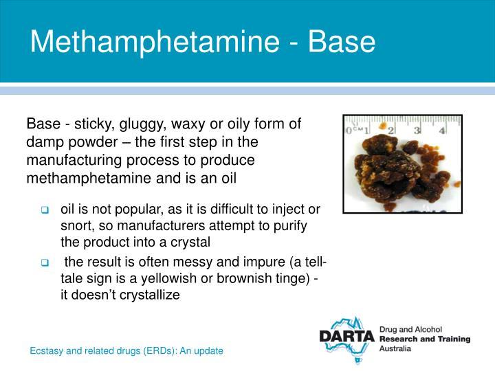 Methamphetamine - Base