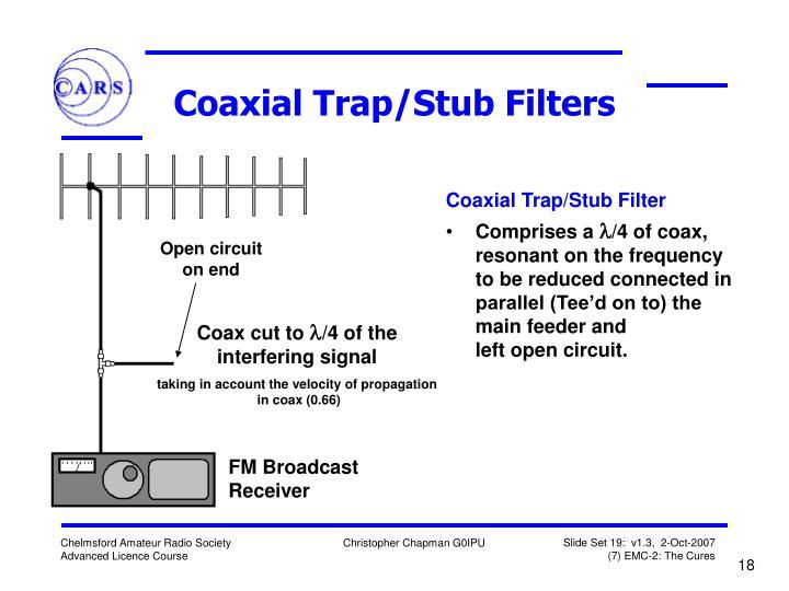 Coaxial Trap/Stub Filters